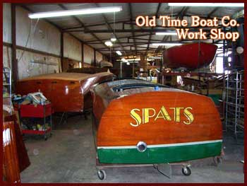Old Time Boat Co. Work Shop
